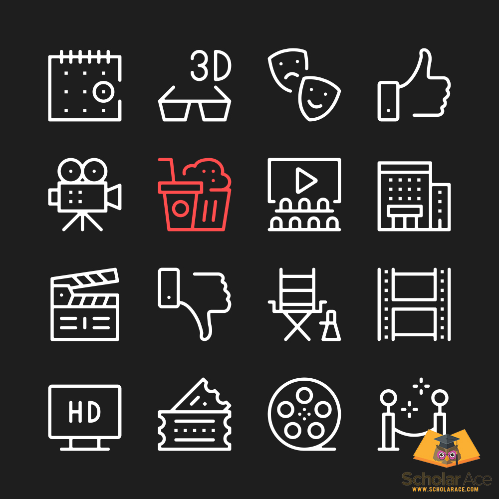 movie review icons