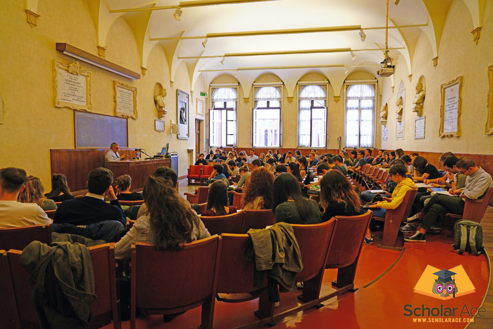 International students in Italy