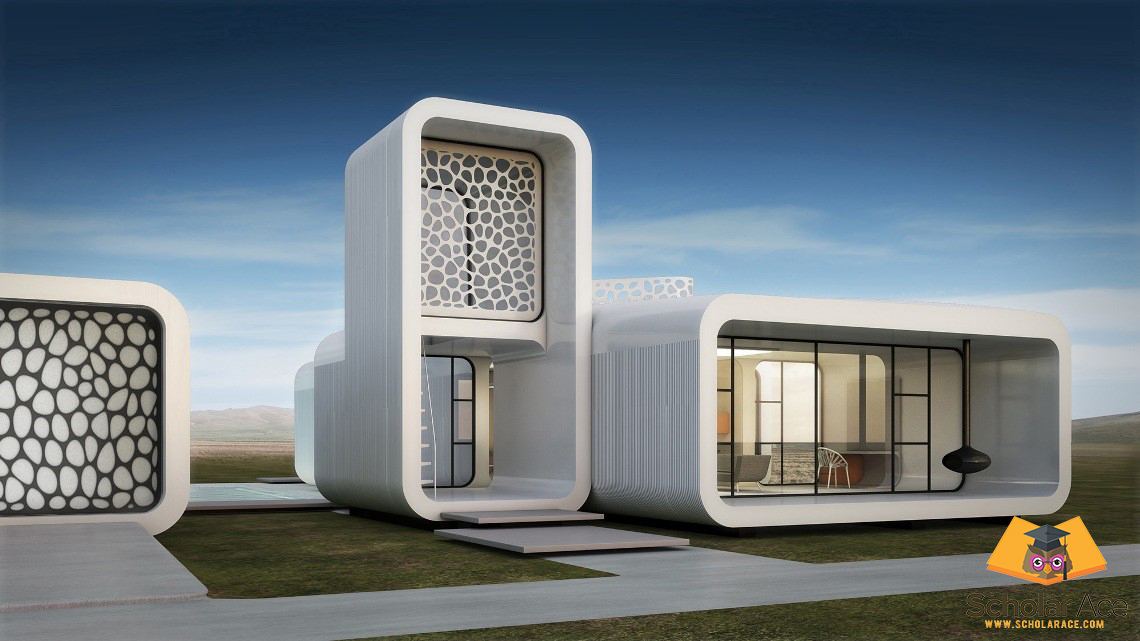 3d printed house prototype in UAE