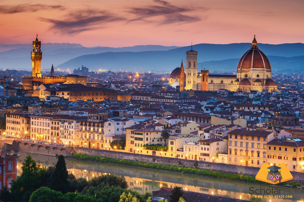 florence italy best place to study arts and history