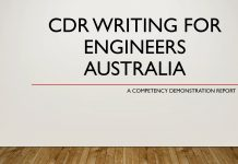 Competency Demonstration Report CDR writing for engineers Australia