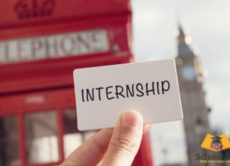 paid internship in Europe