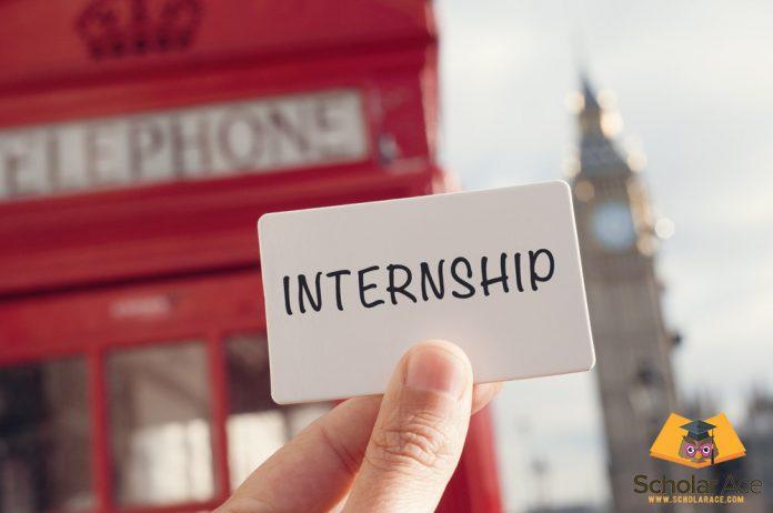 paid internship in Europe