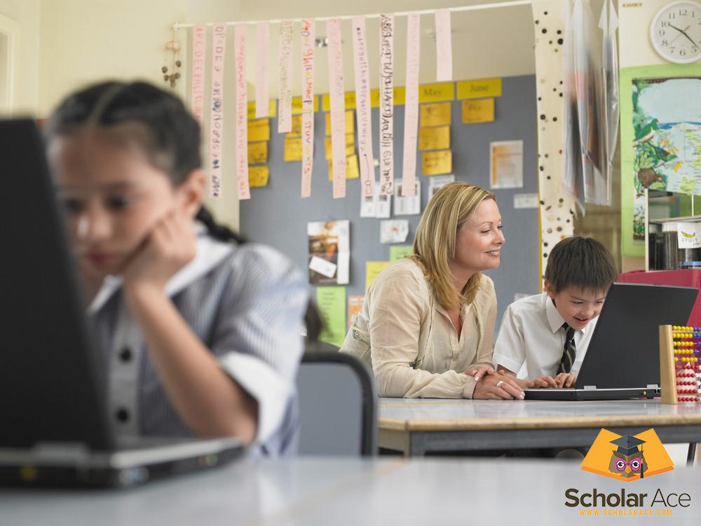 teacher help students in Australia
