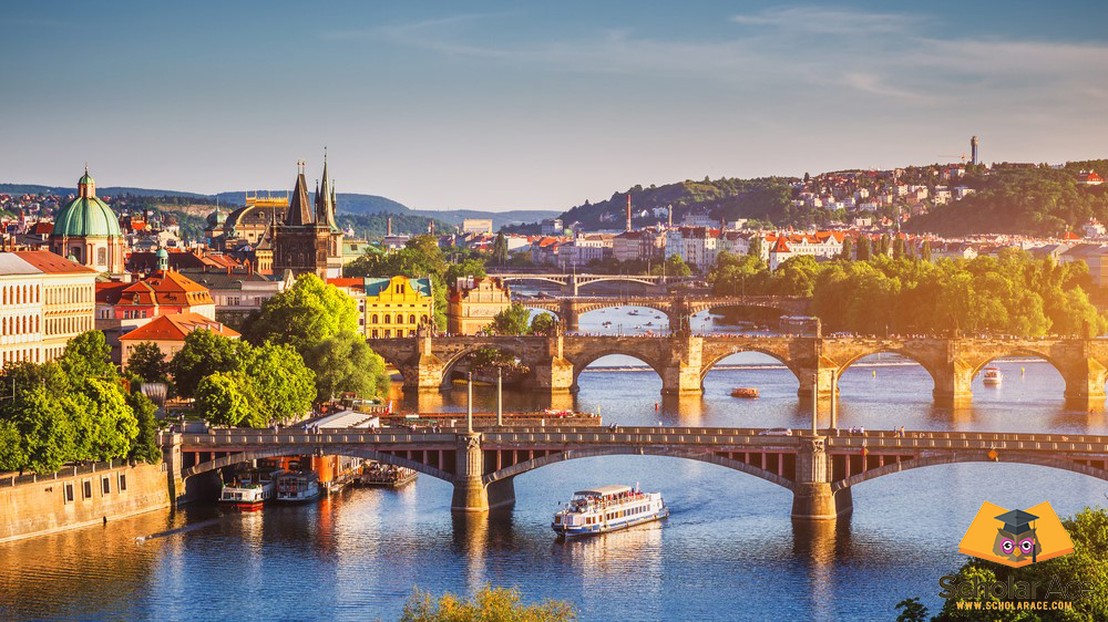 Prague Czech republic hub of learning english literature